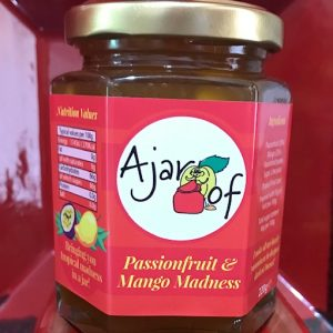 Passionfruit and Mango madness jam