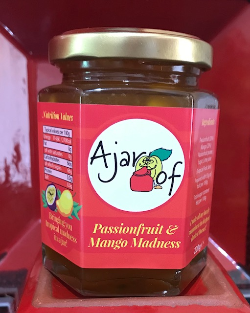 Passionfruit and Mango madness jam